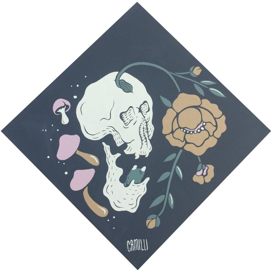 muerta flor