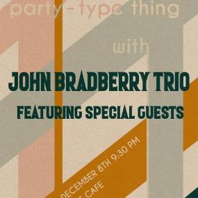 John Bradberry Trio Poster